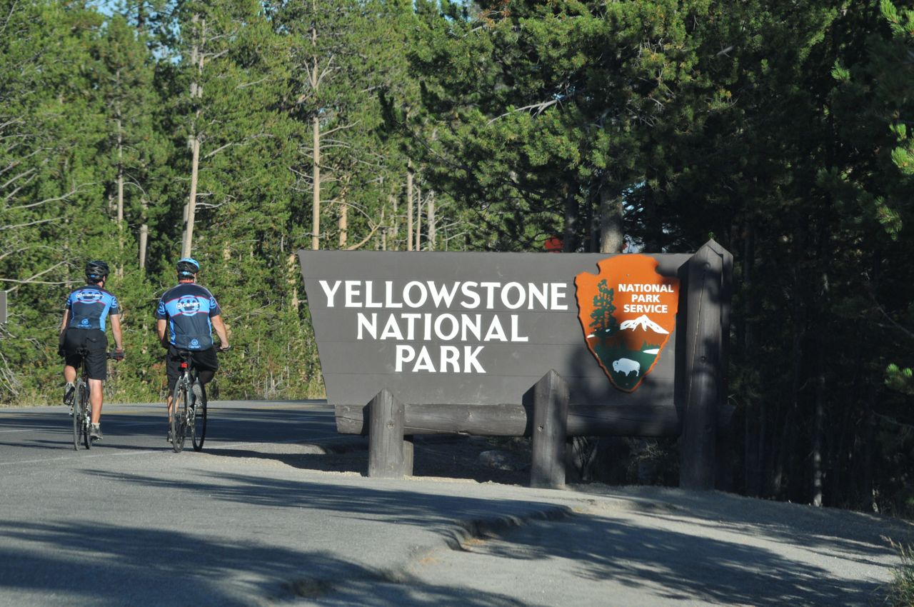 Pearson & Pete enter Yellowstone